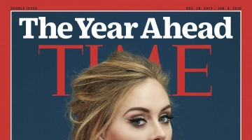 Adele TIME Cover