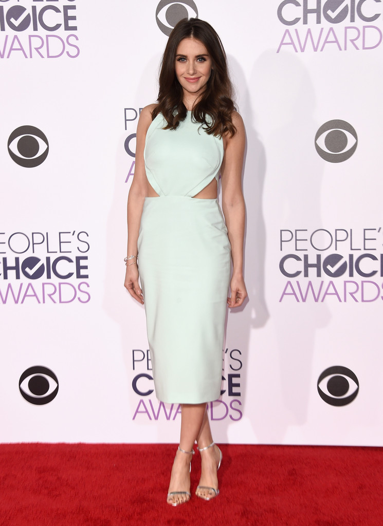 Alison Brie - People's Choice Awards 2016: фотографии