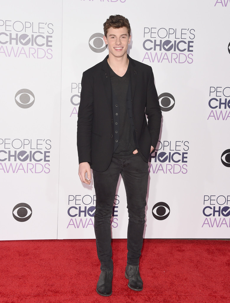 Shawn Mendes - People's Choice Awards 2016: фотографии
