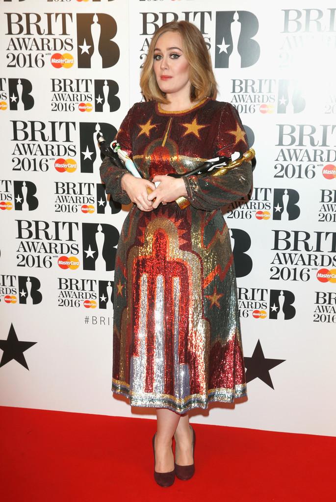 Adele 3 - BRIT Awards 2016: список победителей