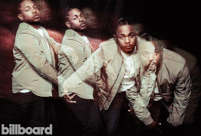 "Кендрик Ламар на обложке ""Billboard"""