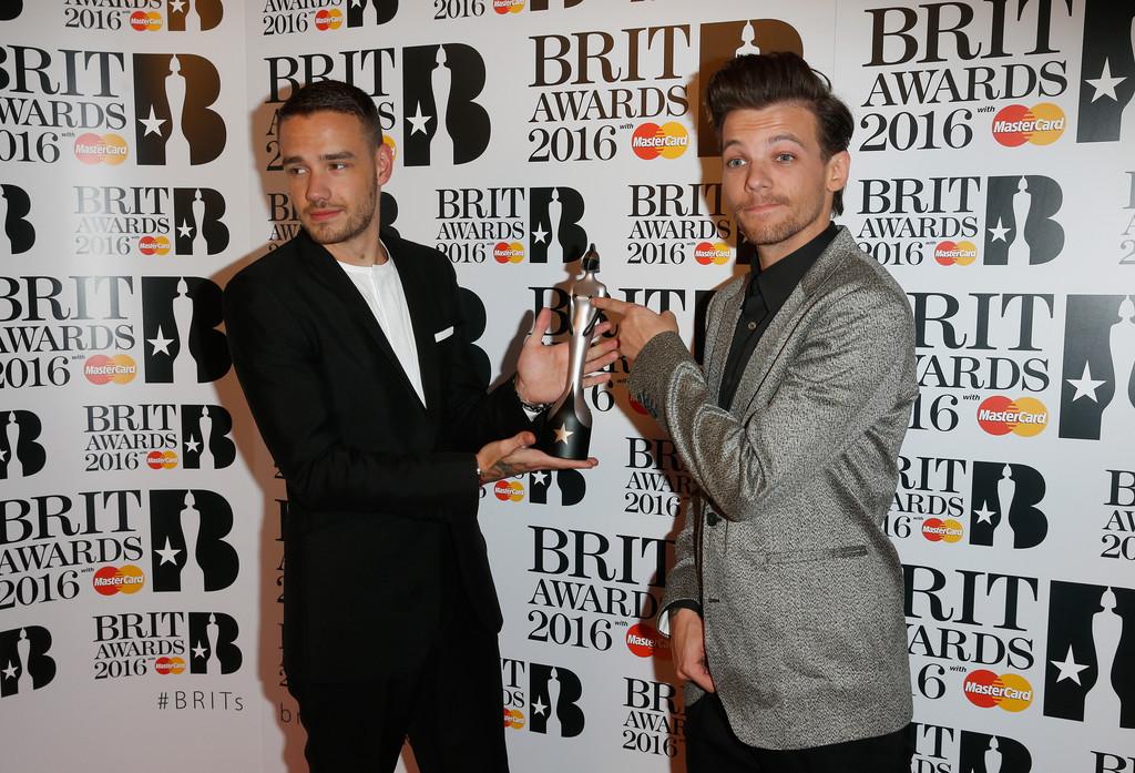 Liam Payne and Louis Tomlinson - BRIT Awards 2016: список победителей