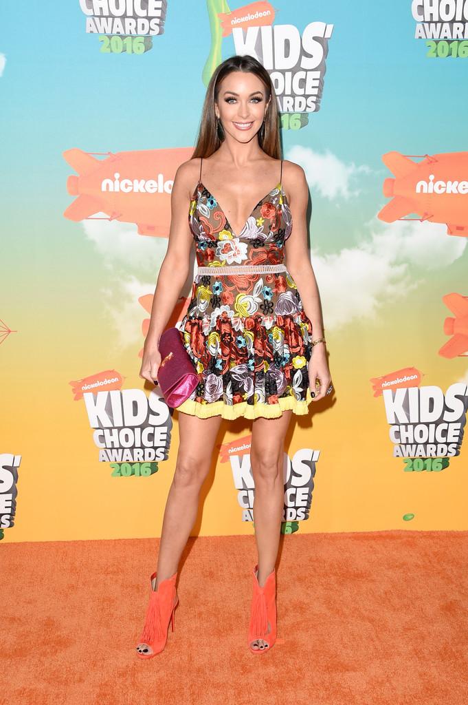 "Courtney Sixx - В Лос-Анджелесе состоялась ""Nickelodeon Kids' Choice Awards 2016"""
