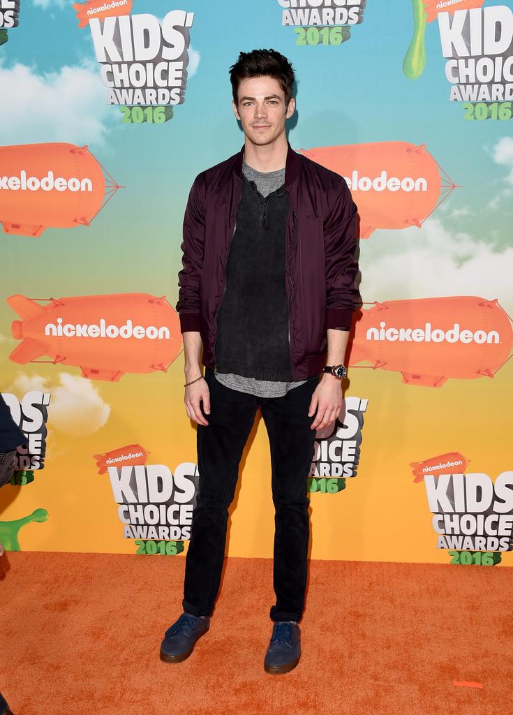 "Grant Gustin - В Лос-Анджелесе состоялась ""Nickelodeon Kids' Choice Awards 2016"""