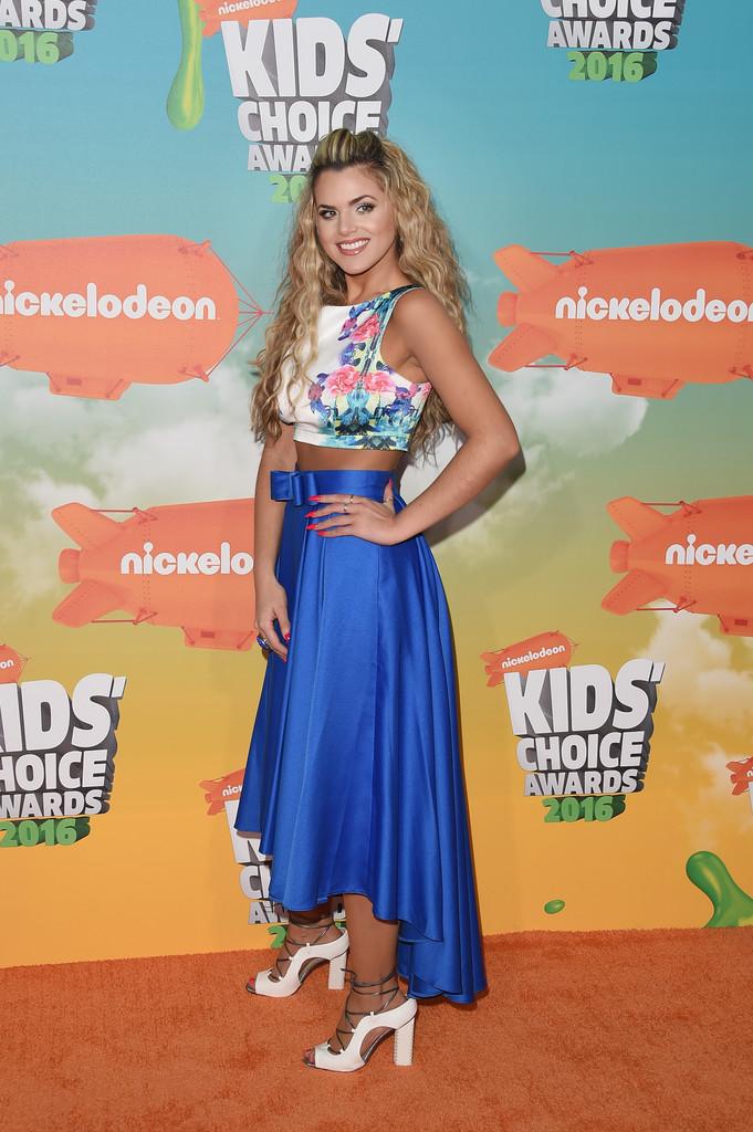 "Isabella Castillo - В Лос-Анджелесе состоялась ""Nickelodeon Kids' Choice Awards 2016"""