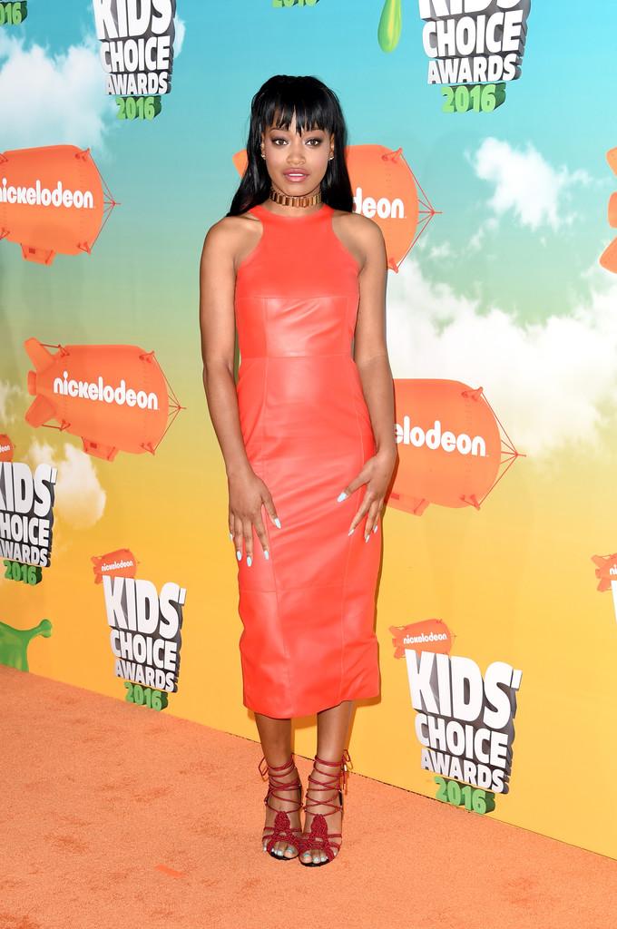 "Keke Palmer - В Лос-Анджелесе состоялась ""Nickelodeon Kids' Choice Awards 2016"""