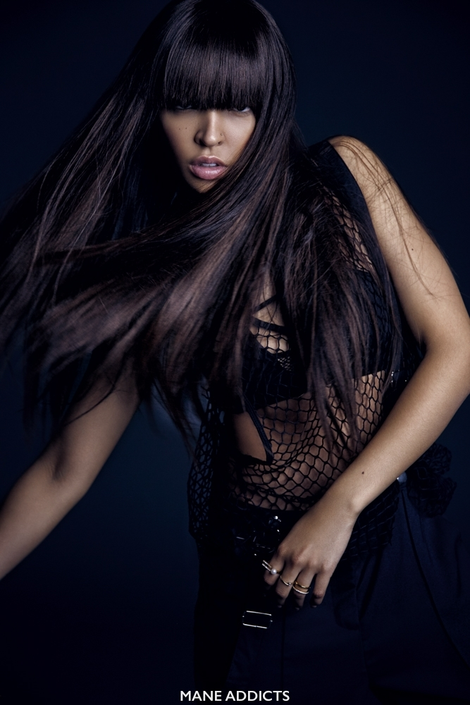 """Tinashe Elle 02 - Фото: Тинаше для журнала """"ELLE"""""""