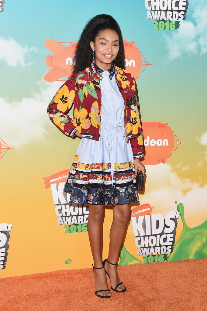 "Yara Shahidi - В Лос-Анджелесе состоялась ""Nickelodeon Kids' Choice Awards 2016"""