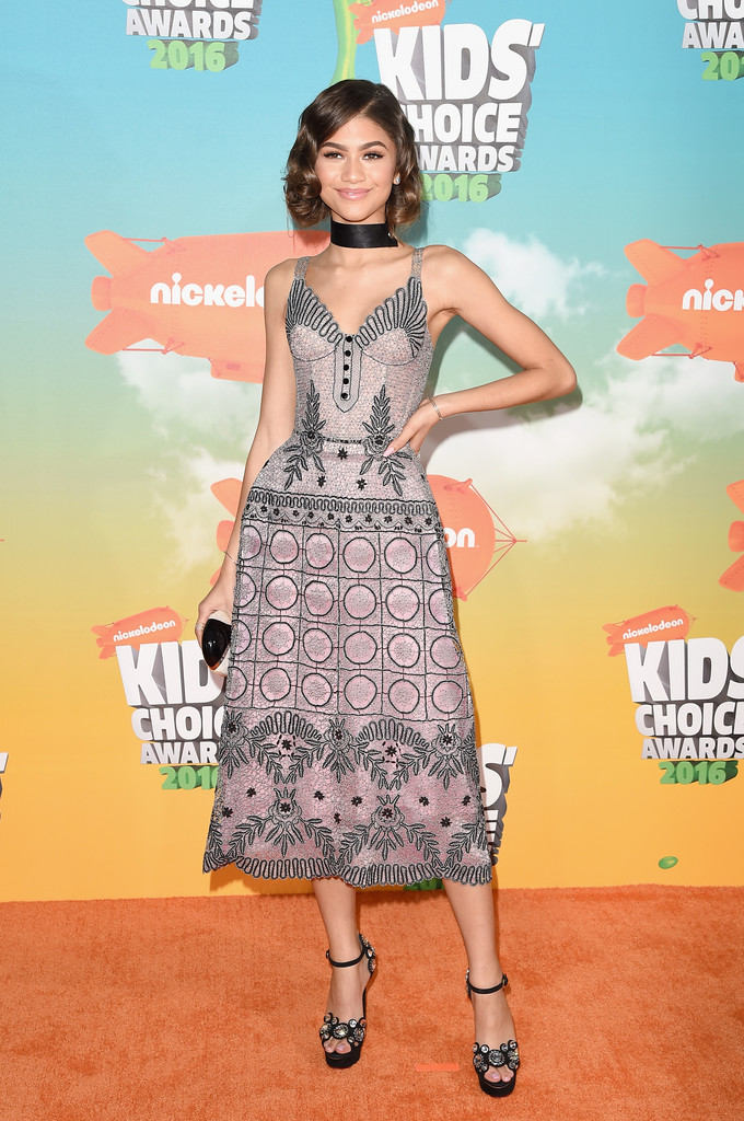 "Zendaya - В Лос-Анджелесе состоялась ""Nickelodeon Kids' Choice Awards 2016"""