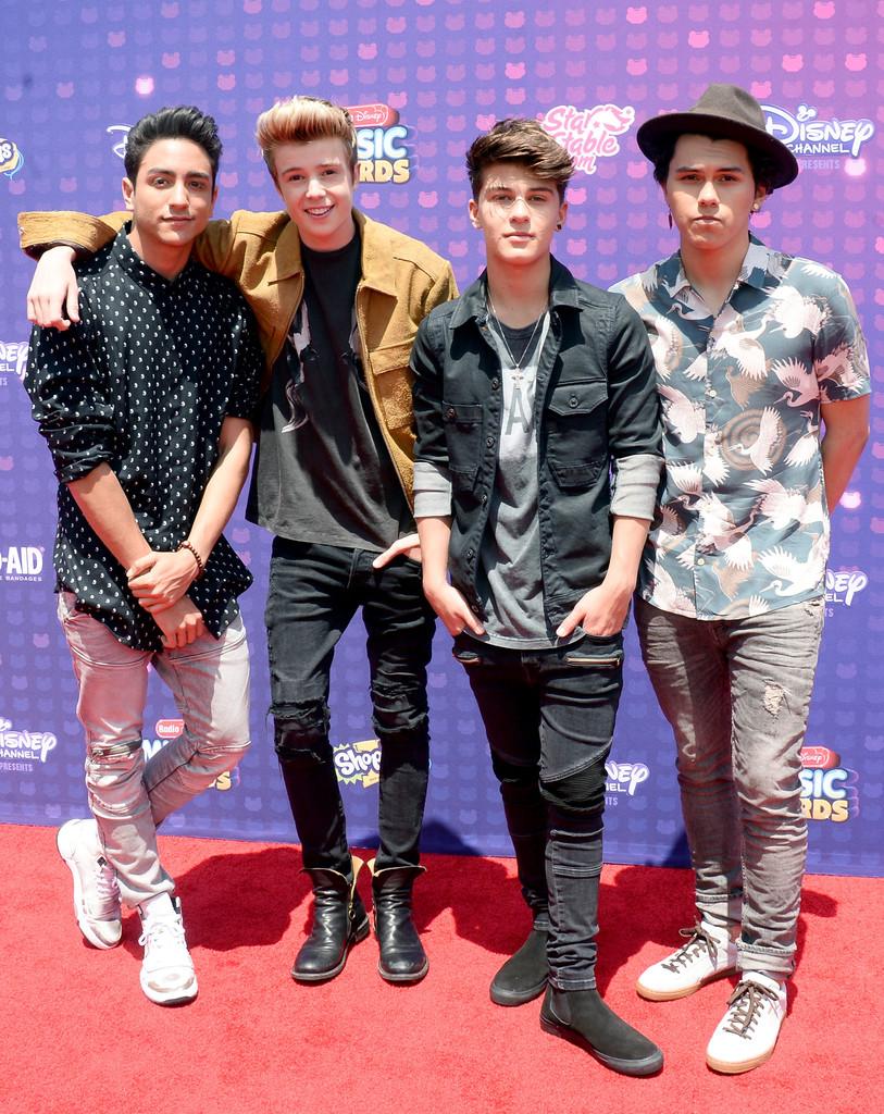 "New District - В Лос-Анджелесе прошла премия ""Radio Disney Music Awards 2016"""