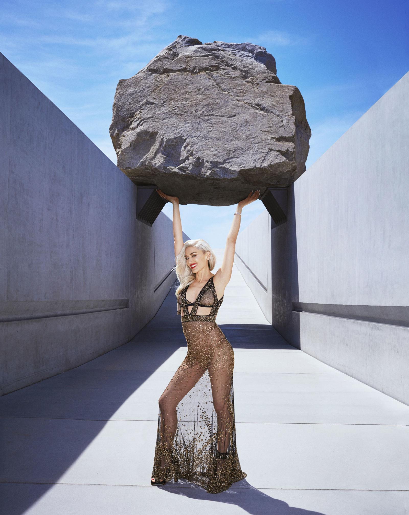 Гвен Стефани  на обложке «Harper's Bazaar»