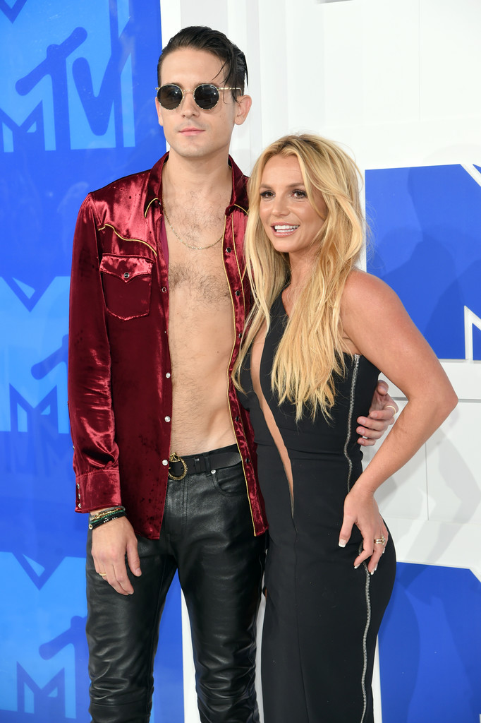 Britney Spears and G Eazy - MTV Video Music Awards 2016: Фотографии