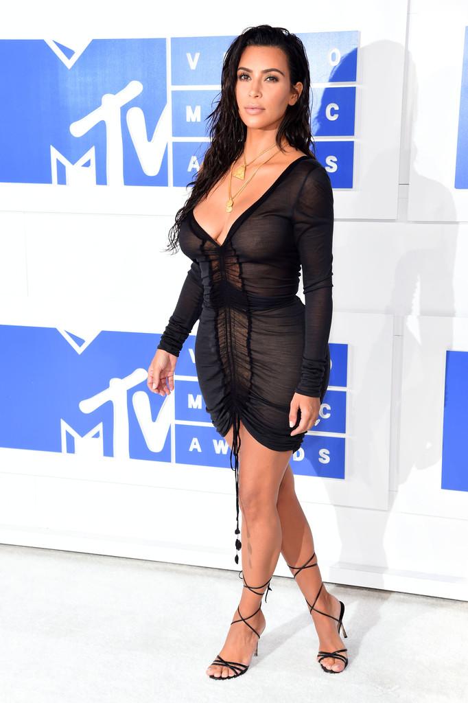 Kim Kardashian - MTV Video Music Awards 2016: Фотографии