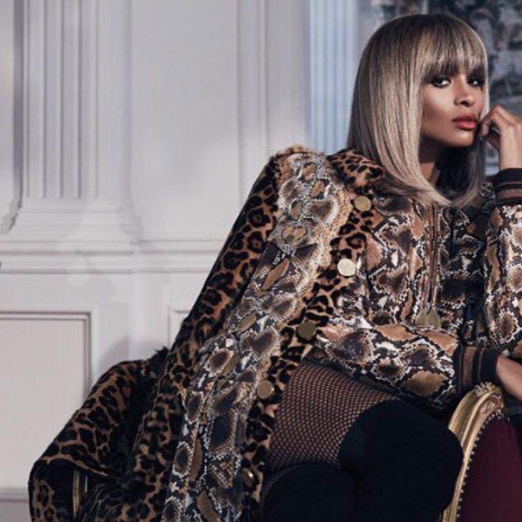 Сиара на обложке журнала Hashtag Legend