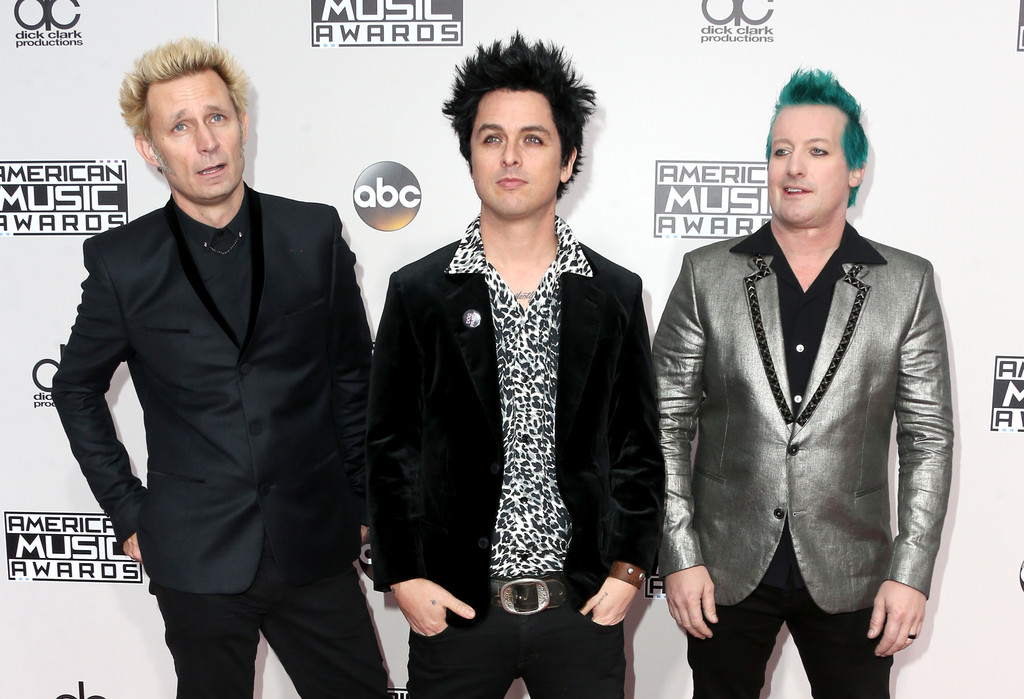 Green Day 1 - American Music Awards 2016: фотографии