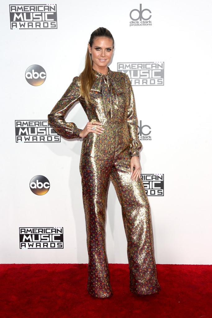 Heidi Klum - American Music Awards 2016: фотографии
