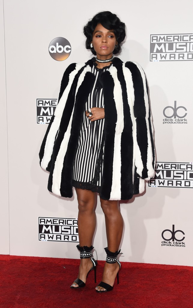 Janelle Monae - American Music Awards 2016: фотографии