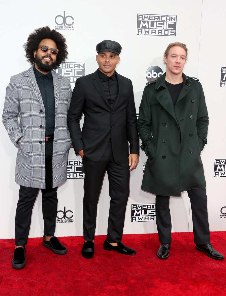 Major Lazer - American Music Awards 2016: фотографии