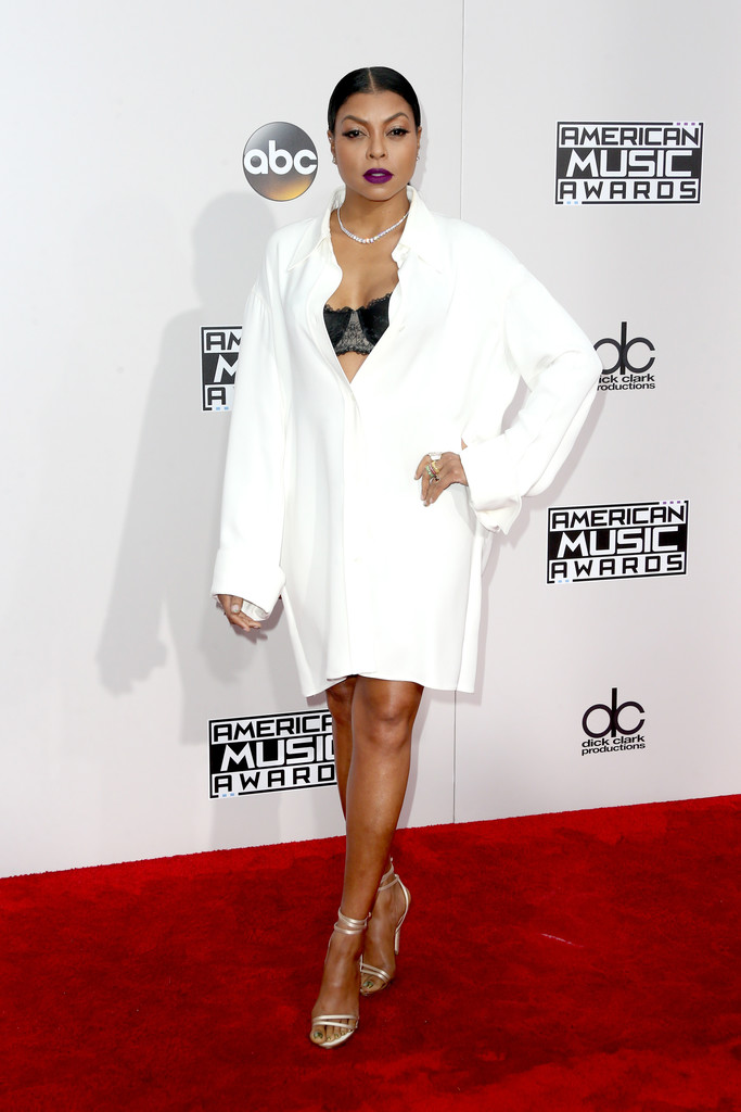 Taraji P. Henson - American Music Awards 2016: фотографии