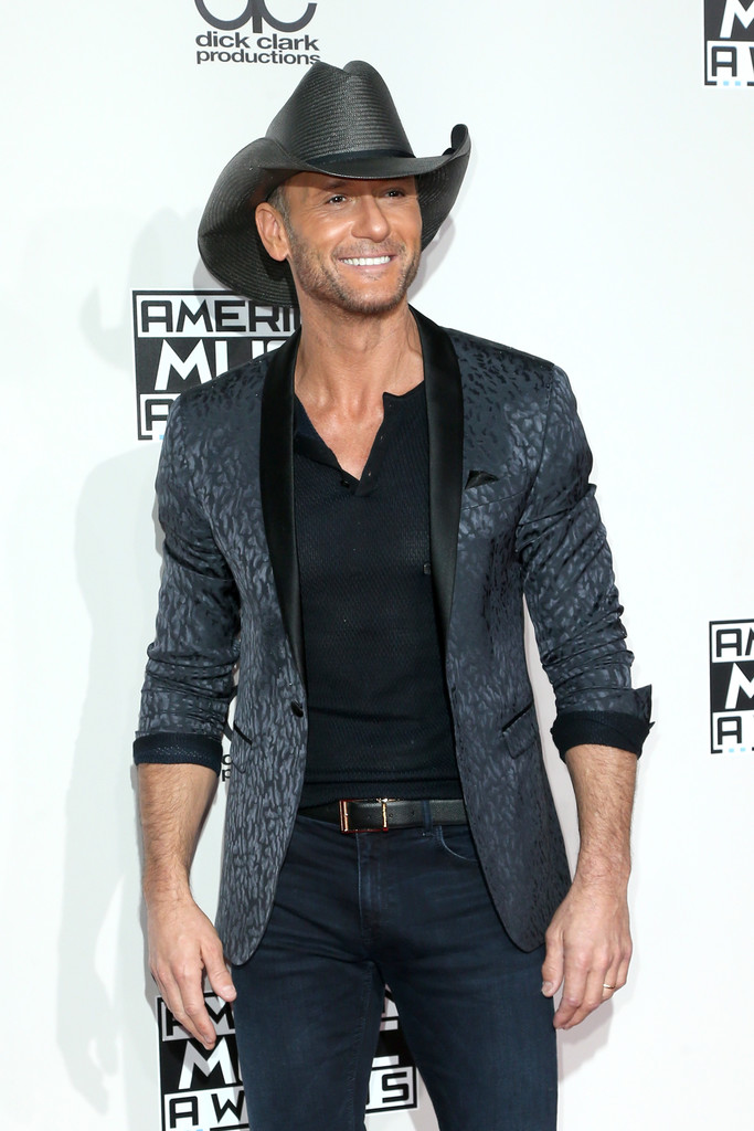 Tim McGraw - American Music Awards 2016: фотографии