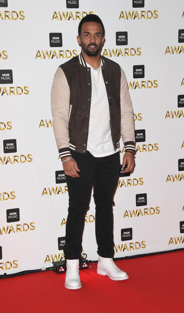 """Craig David - В Британии прошла премия """"BBC Music Awards 2016"""""""