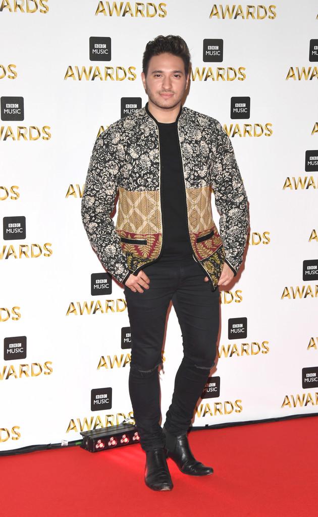 "Jonas Blue - В Британии прошла премия ""BBC Music Awards 2016"""