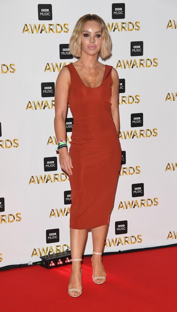 "Katie Piper - В Британии прошла премия ""BBC Music Awards 2016"""
