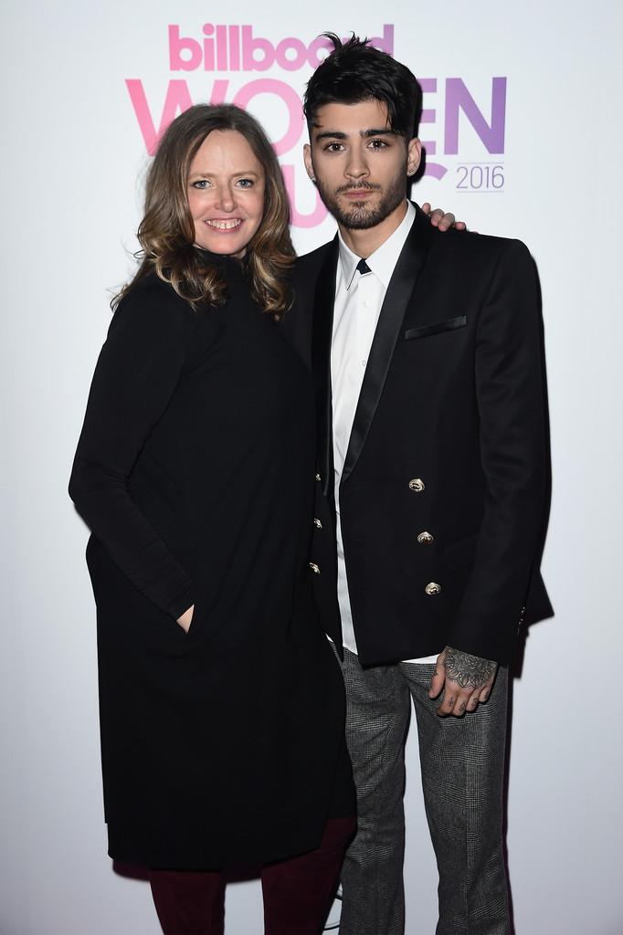 Sarah Stennett and Zayn Malik - Billboard вручил награды лучшим женщинам 2016 года