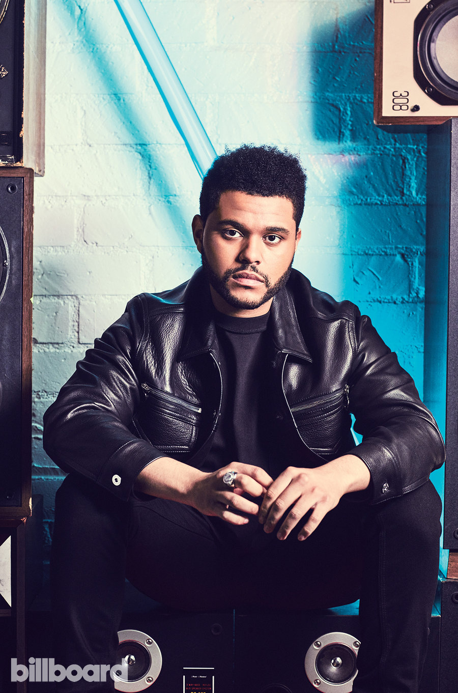"The Weeknd на обложке ""Billboard"""