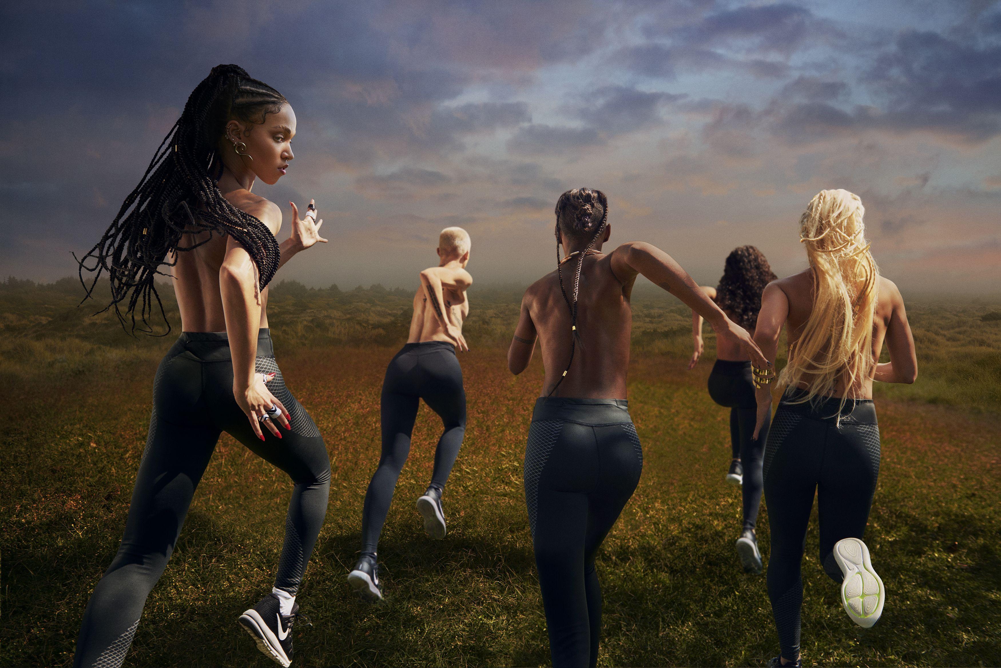 """FKA Twigs Nike 4 - Фотосессия FKA twigs для """"Nike"""""""