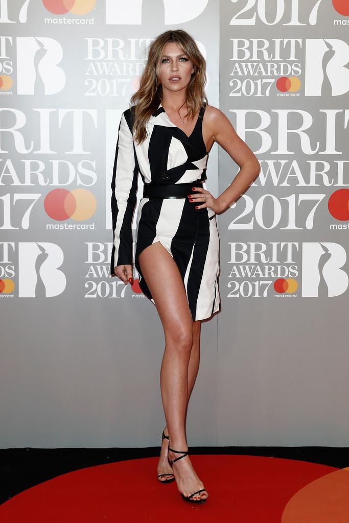 Abbey Clancy - BRIT Awards 2017: фотографии