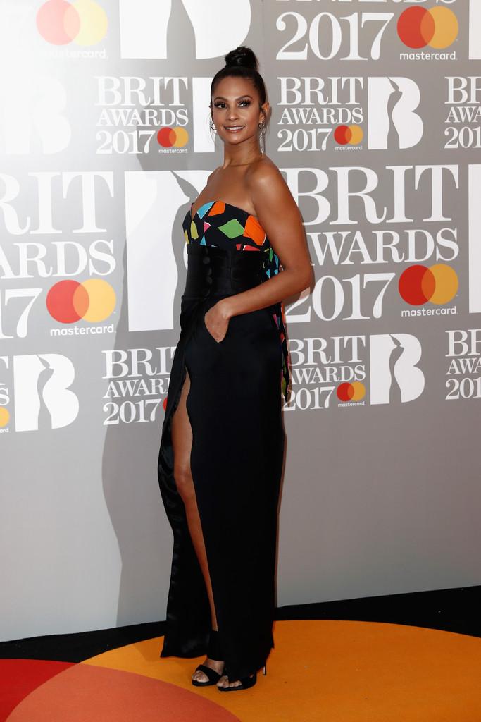 Alesha Dixon - BRIT Awards 2017: фотографии