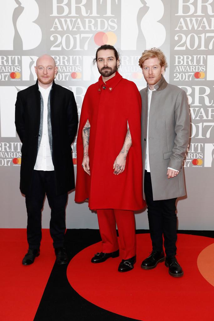 Biffy Clyro - BRIT Awards 2017: фотографии