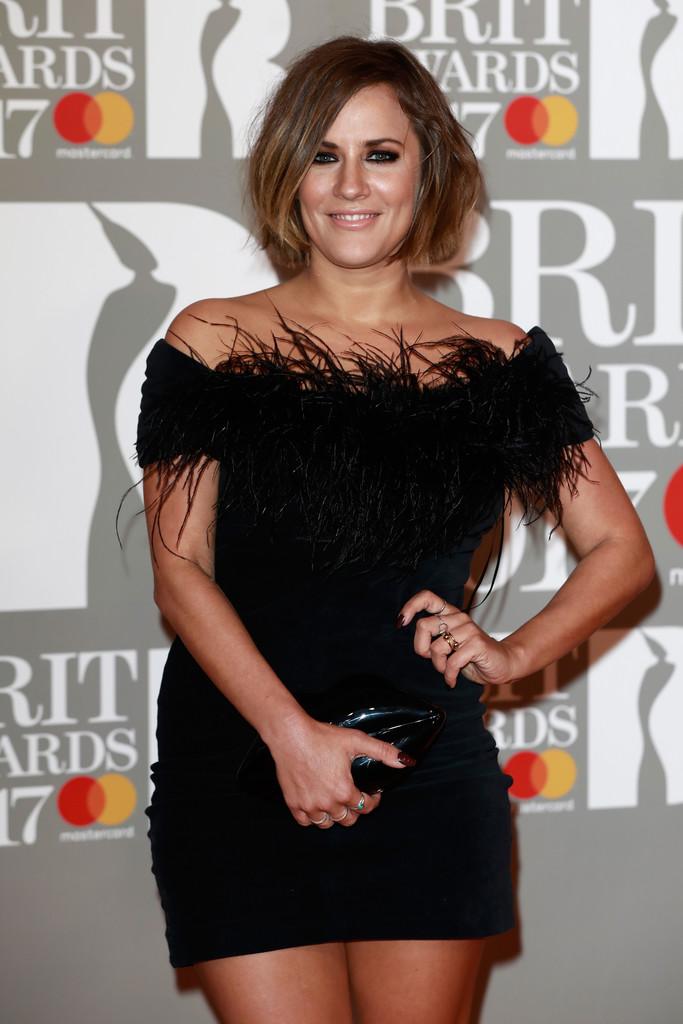 Caroline Flack - BRIT Awards 2017: фотографии