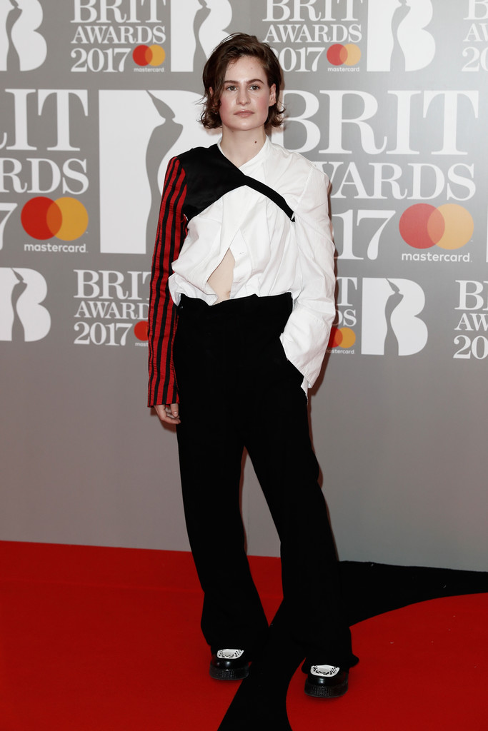 Christine and the Queens - BRIT Awards 2017: фотографии