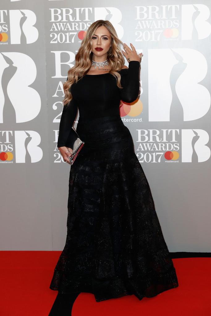 Holly Hagan - BRIT Awards 2017: фотографии