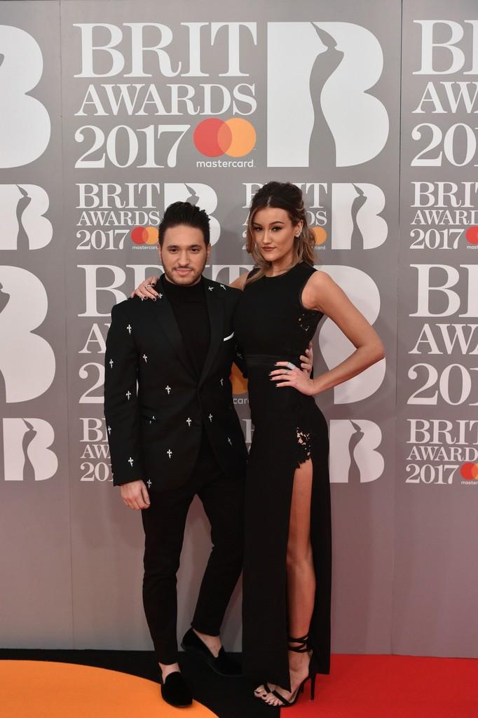 Jonas Blue i Dakota - BRIT Awards 2017: фотографии