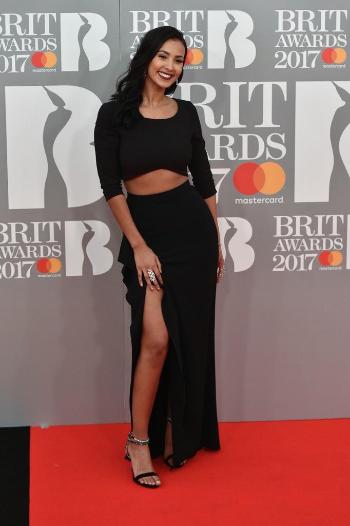 Maya Jama - BRIT Awards 2017: фотографии
