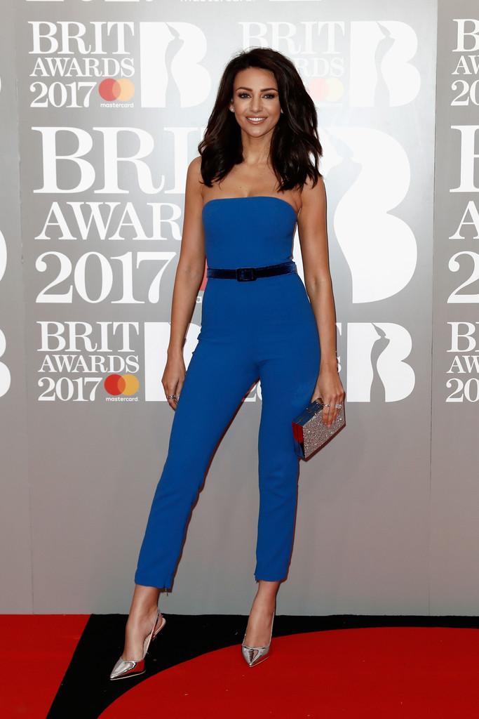 Michelle Keegan - BRIT Awards 2017: фотографии