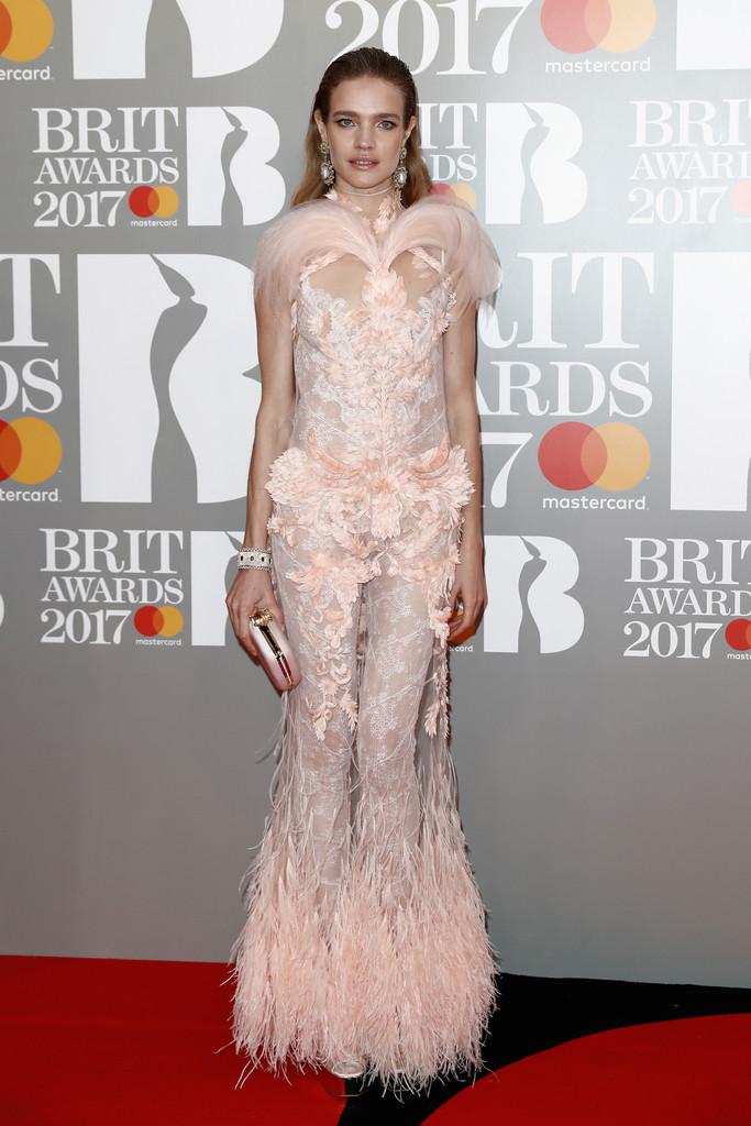 Natalia Vodianova - BRIT Awards 2017: фотографии