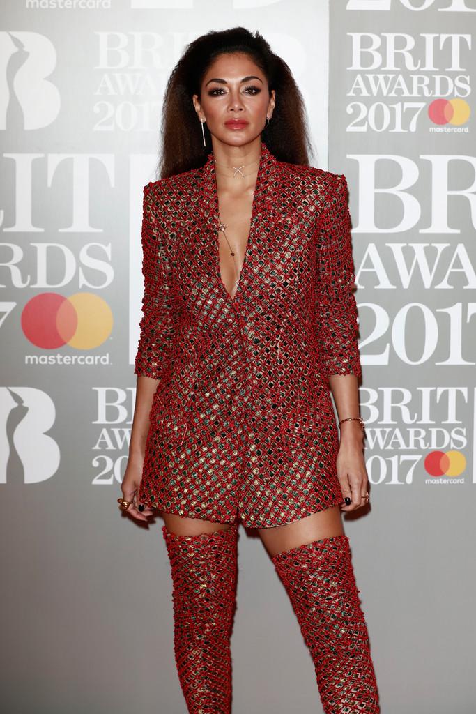 Nicole Scherzinger - BRIT Awards 2017: фотографии