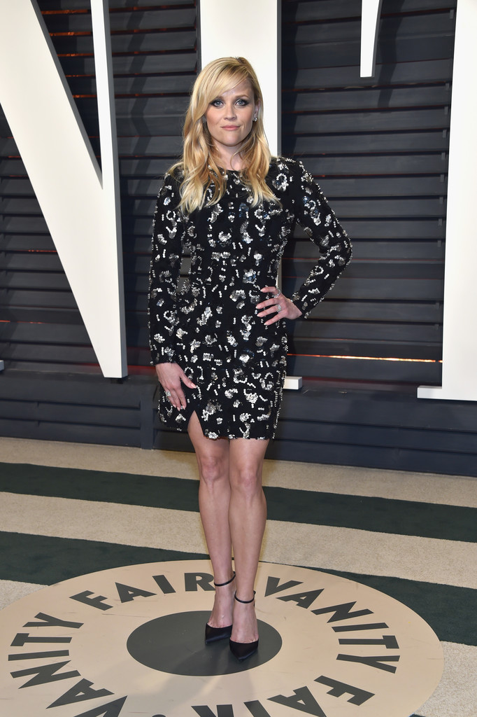 "Reese Witherspoon - Фотографии с ""Vanity Fair Oscar Party-2017"""