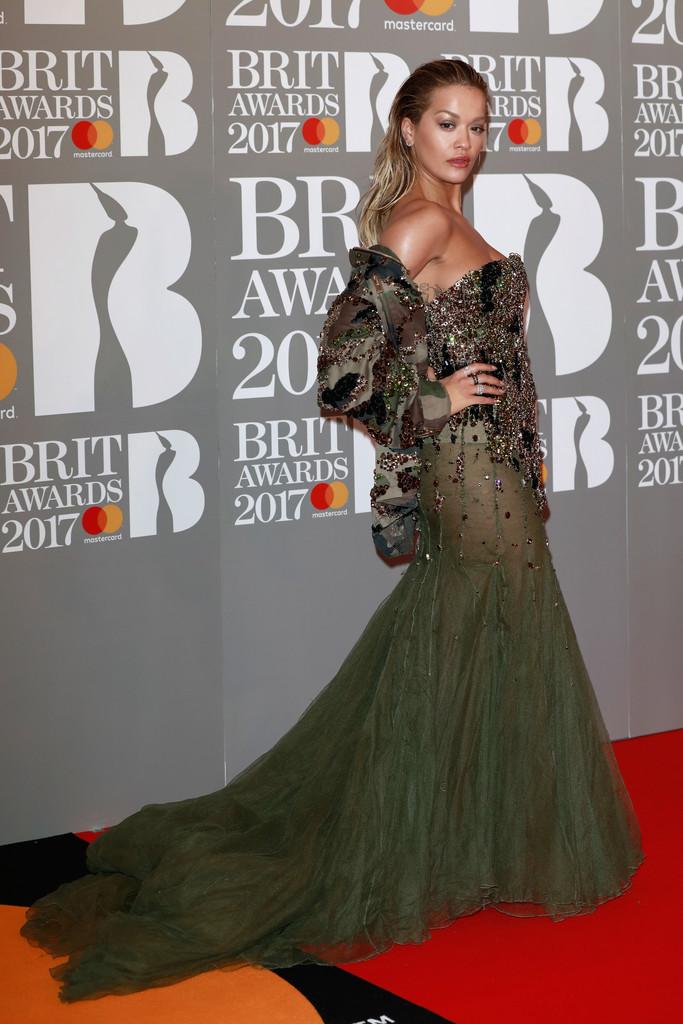 Rita Ora - BRIT Awards 2017: фотографии