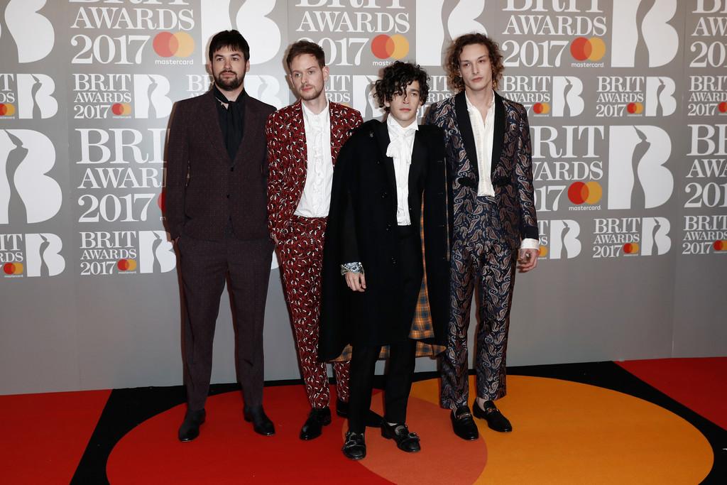 The 1975 - BRIT Awards 2017: фотографии
