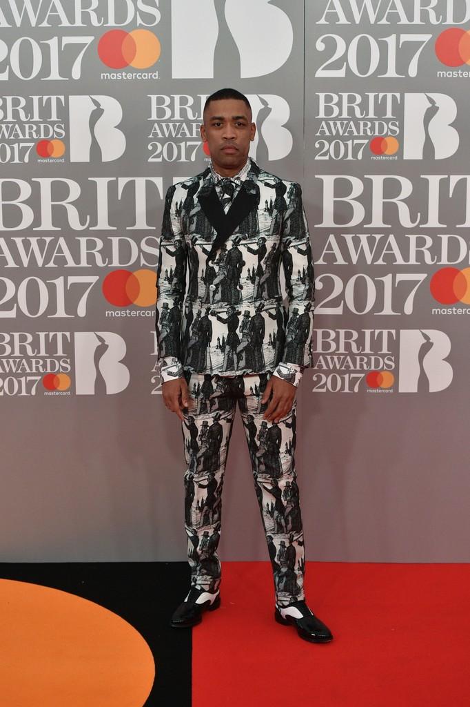 Wiley - BRIT Awards 2017: фотографии