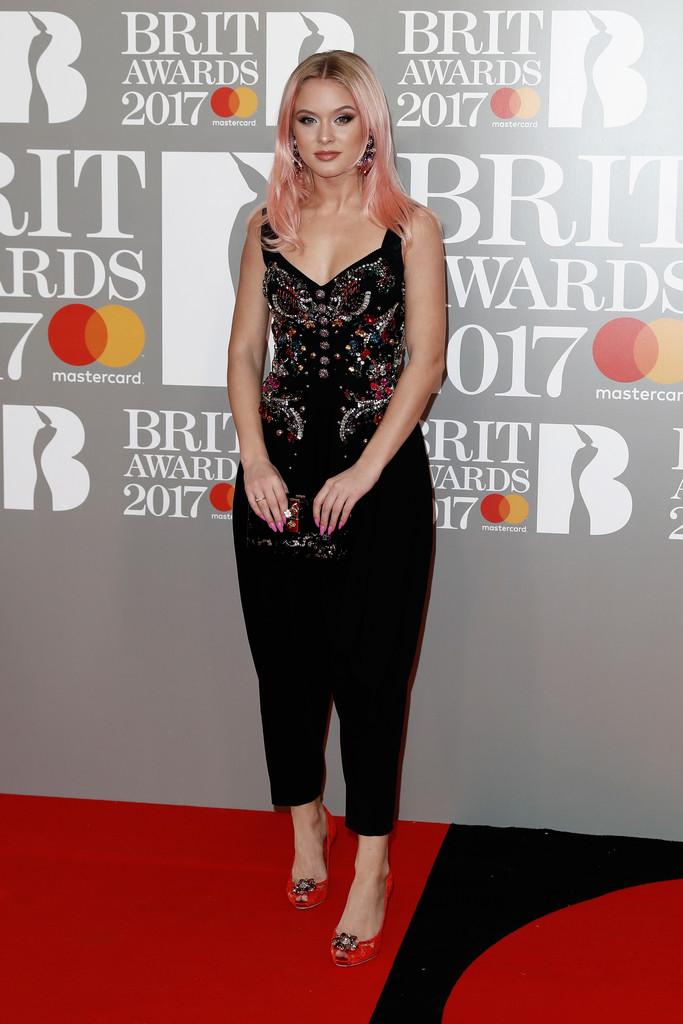 Zara Larsson - BRIT Awards 2017: фотографии