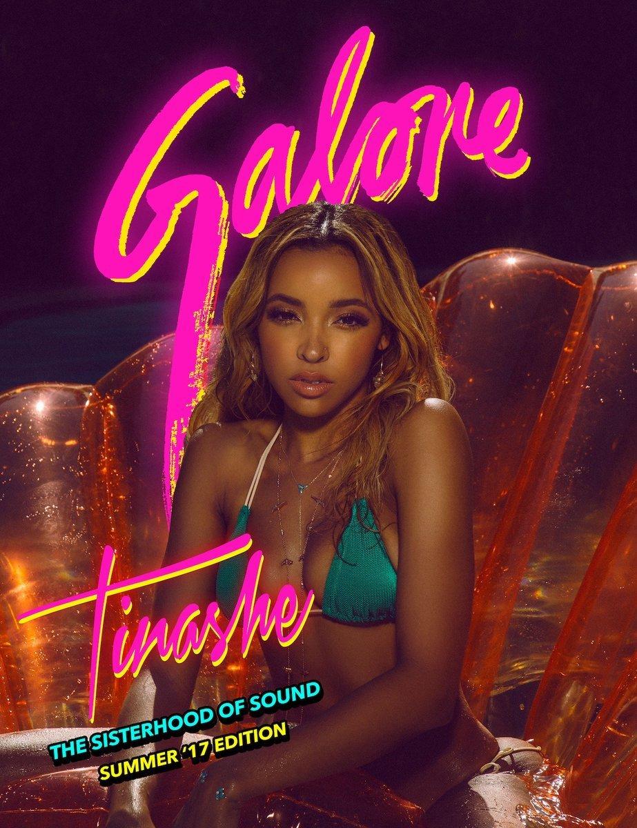 Tinashe Galore Photoshoot 2017 1 - Фото: Тинаше в журнале Galore
