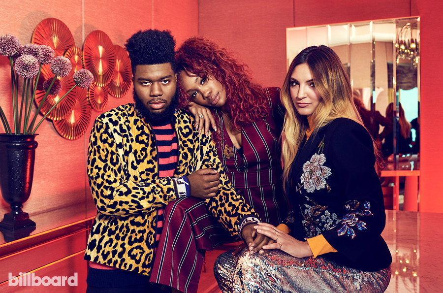 grammy preview group als bb24 billboard 1548 - Julia Michaels, Khalid, SZA на обложке Billboard
