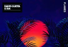 Обложка сингла: David Guetta & Sia— Flames