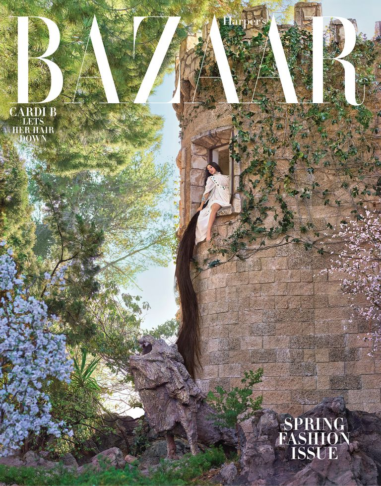 Фото: Cardi B для Harper's Bazaar